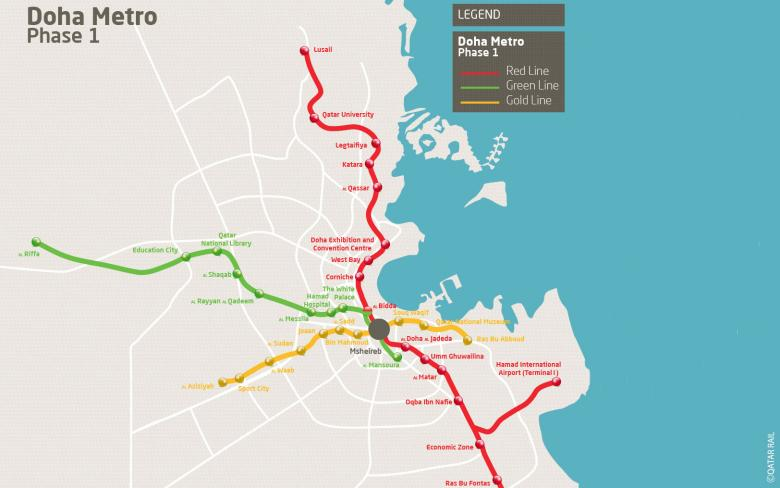 Doha Metro Network Architectural Finishes