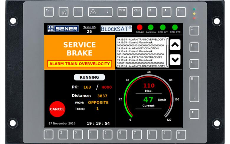 BlockSAT  System for the signaling and management of railway