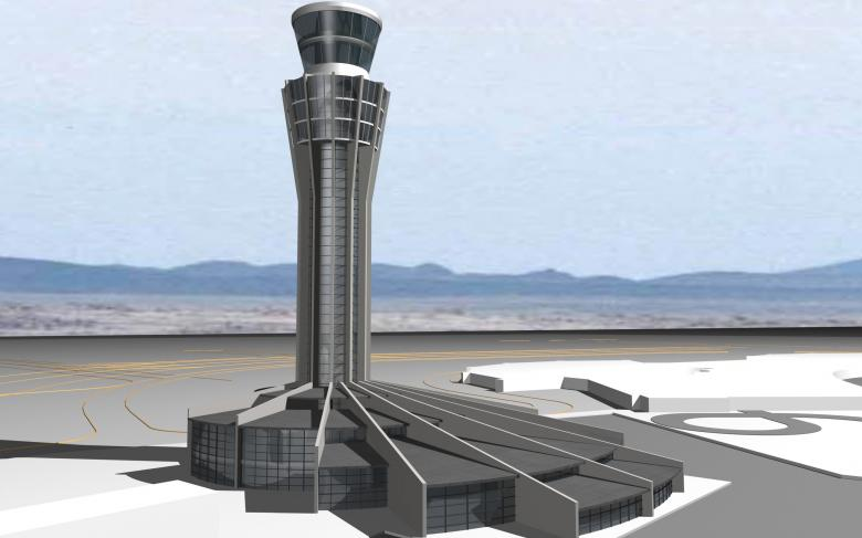 Technical Blocks and Control Towers in Algerian airports