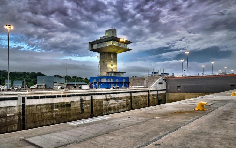 Control Tower - Third Set of Locks for the Panama Canal