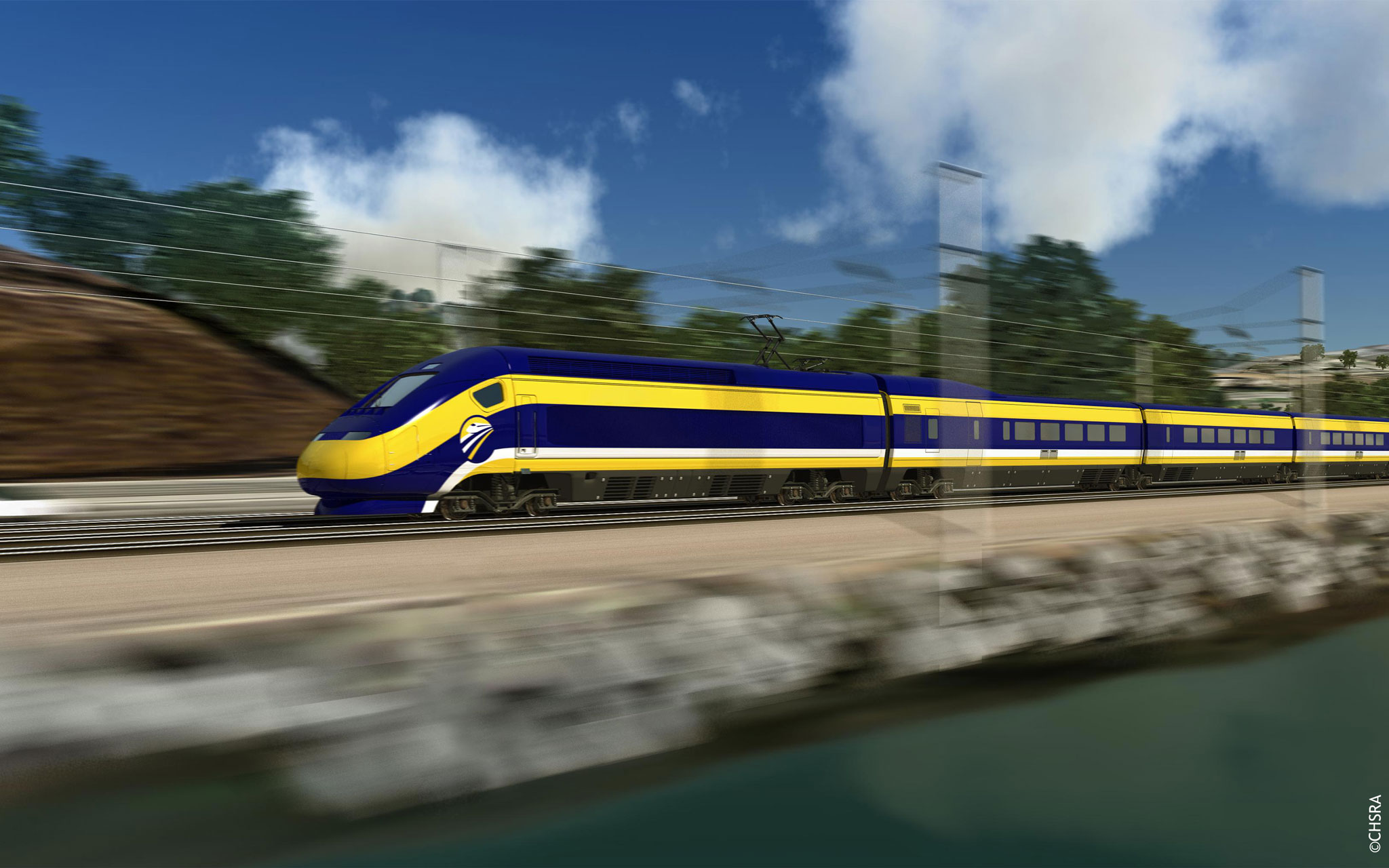 Contract for the California high-speed railway line